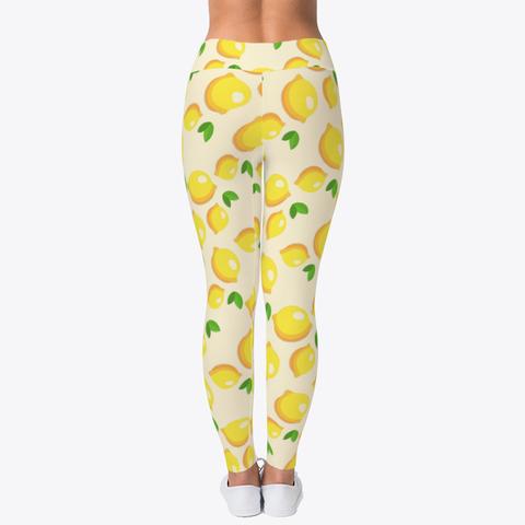 Custom Lemon Lovin' Leggings Workout Leggings