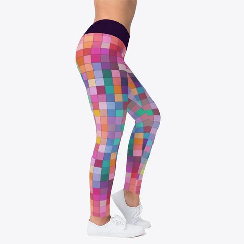DIY Color Blocks Workout Leggings