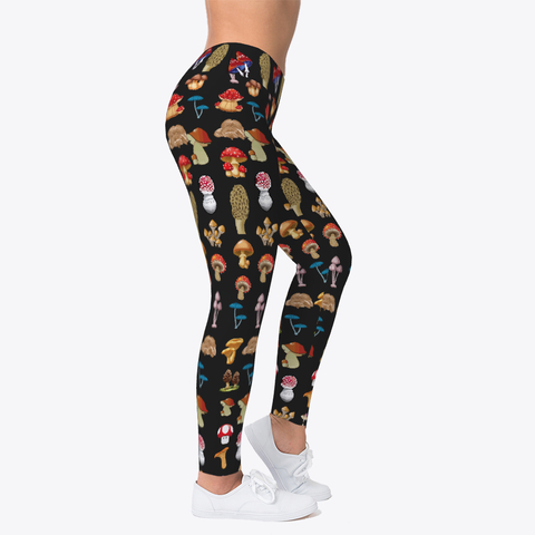 Custom Mashroom Leggings Workout Leggings
