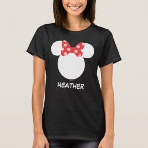 Custom Disney Family Vacation - Minnie Add Your Name T-Shirt