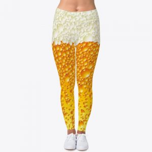 Custom Beer Leggings Workout Leggings