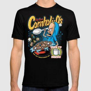 Custom Funny Bunghole Breakfast T-shirt