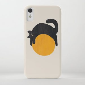 Custom Cat with ball iPhone Case