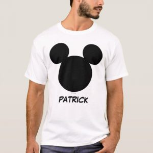 Custom Disney Family Vacation Mickey Add Your Name T-Shirt