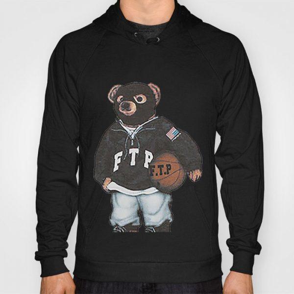 Custom FTP Bear Hoodie