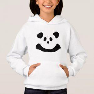 Custom Panda Face Hoodie