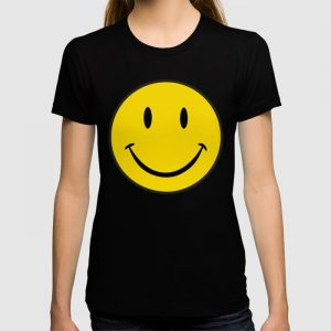 Custom Smiley Happy Face T-shirt
