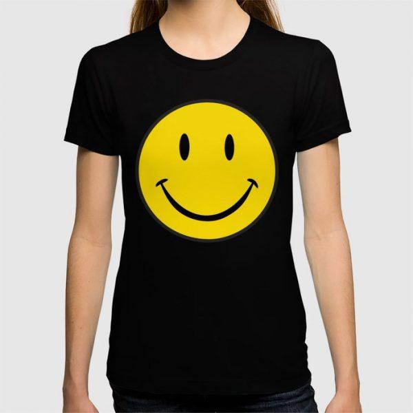 Custom Smiley Happy Face T-shirt