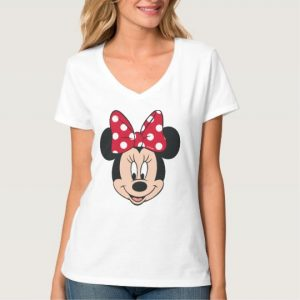 Minnie Mouse Head Logo T-Shirt